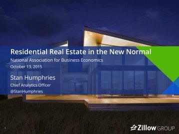 Residential Real Estate in the New Normal
