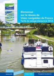 Bienvenue sur le réseau de Voies navigables de France
