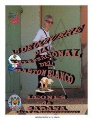 LEONES DE SABANA, AÑO 4,N° 54, 15 OCTUBRE 2015