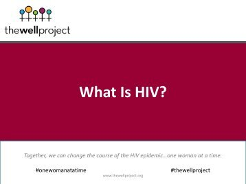 What Is HIV?