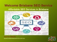 SEO Experts Brisbane | Google Local SEO