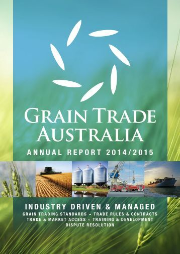 ANNUAL REPORT 2014/2015 INDUSTRY DRIVEN & MANAGED