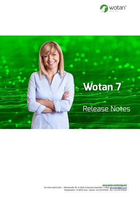 Wotan7 - Monitoring Dashboards and SAP Change Management Monitoring