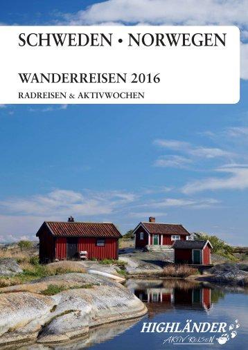 Skandinavien 2016 - Highländer Aktivreisen
