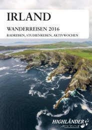 Irland 2016 - Highländer Aktivreisen