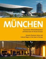 München - Dynamischer Wirtschaftsstandort und Kulturraum im Herzen Europas