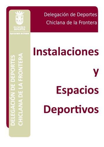 Dossier Instalaciones y Espacios Deportivos Chiclana