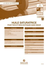 HUILE SATURATRICE