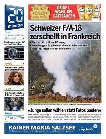 Schweizer F/A-18 zerschellt in Frankreich