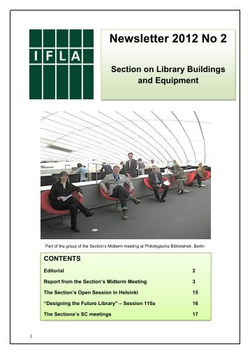 Newsletter 2012 No 2 Section on Library Buildings and ... - IFLA