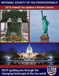 2015 Federal Tax Update Book