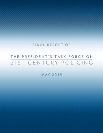 FINAL REPORT OF MAY 2015