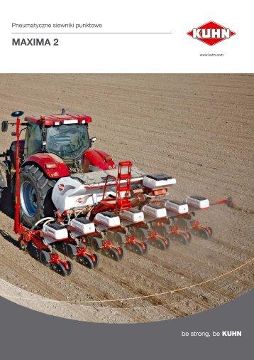 MAXIMA 2 - Maszyny rolnicze KUHN