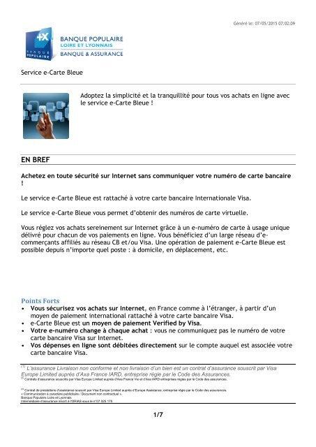 service e carte bleue banque populaire d'ecommerçants