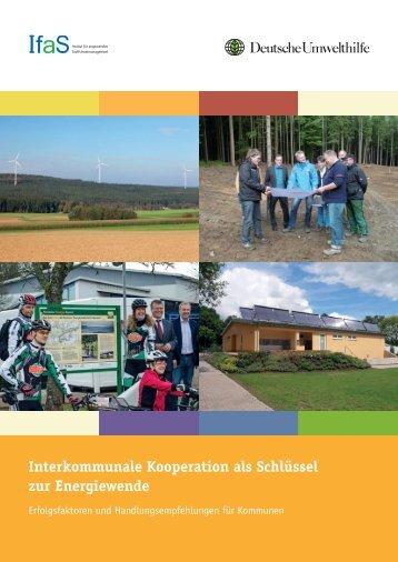Interkommunale Kooperation als Schlüssel zur Energiewende
