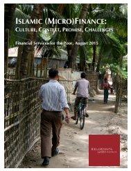 ISLAMIC (MICRO)FINANCE