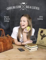 Carolina Sewn B&N College 2015 Assortment Catalog