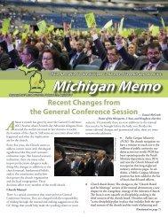 Michigan Memo 2015 09 10