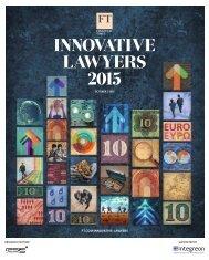 InnovatIve Lawyers 2015
