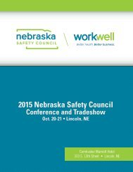 2015 Nebraska Safety Council