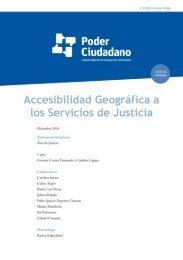Accesibilidad Geográfica a los Servicios de Justicia