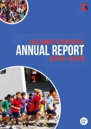 Island School Annual Report Web