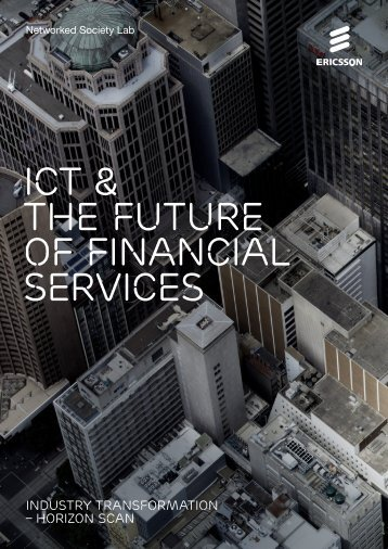 ICT & the future of FINANCIAL SERVICES