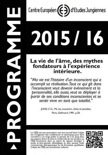programme de l' annee en cours - France-Jung