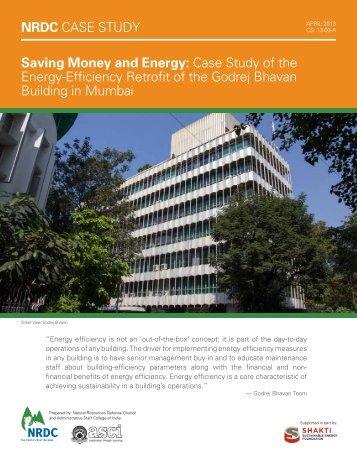 Saving Money and Energy - Case Study By Shakti Sustainable Energy Foundation