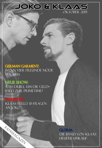 Joko&Klaas - Fanmagazin
