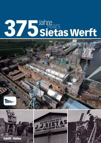 375 Jahre Sietas - Schiff & Hafen