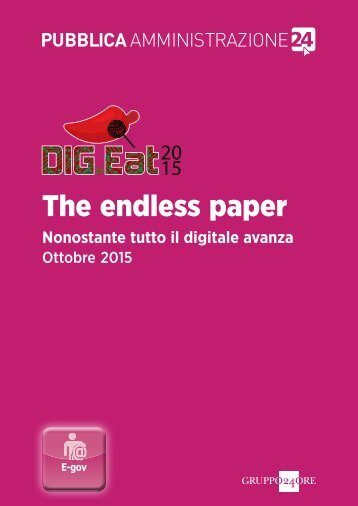 The endless paper