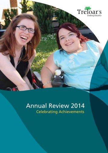 Treloar Trust Annual Review 2014