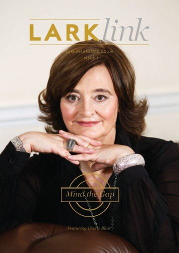 Featuring Cherie Blair