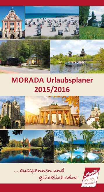 MORADA Urlaubsplaner 2015/2016