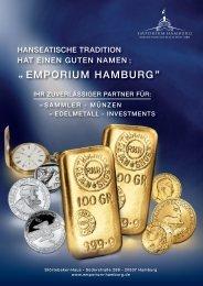 Emporium Hamburg - Produktportfolio
