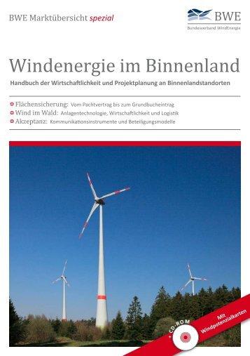 Windenergie im Binnenland - Leseprobe