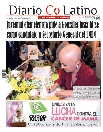 Edición 16 de Octubre de 2015