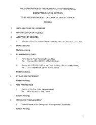 October 21, 2015 Agenda Package