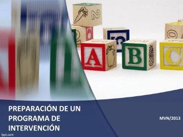 PREPARACION DE UN PROGRAMA DE INTERVENCION  3