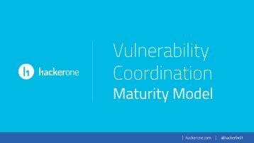 Vulnerability Coordination