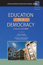 EDUCATION DEMOCRACY
