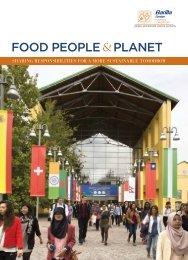 FOOD PEOPLE PLANET