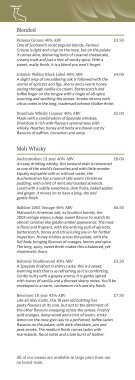 Whisky List - Page 2