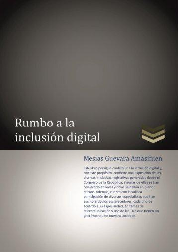 Rumbo a la inclusión digital