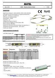 1/8 Juin 2013 COB1 – Modules 26mm à 2 leds MLCOB1X ...