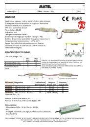 1/6 Janvier 2014 COB05 - modules 2 leds COB05 ...
