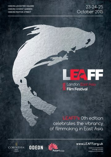 LEAFF's 0th edition celebrates the vibrancy of filmmaking in East Asia