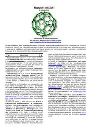Netzwerk-Info XVIII - Kooperationsstelle Hochschulen ...