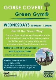 GORSE COVERT Green Gym®